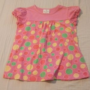 Girls size 6-7 Hanna Andersson pink top